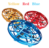 Mini Flying Helicopter UFO RC Drone Hand Sensing Aircraft Electronic Model Quadcopter flayaball Toys Small