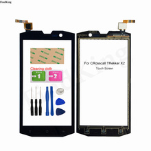 Touch Screen For Crosscall Trekker X2 Touch Screen Panel Digitizer Sensor Front Glass Panel Replacement Parts