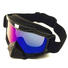 Skiing Goggles Impact Resistant Anti-fog Windproof Breathable Outdoor Protective Sports Motorcycle Riding Glasses Eyewear