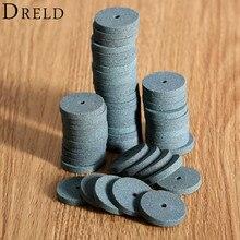 20PCS 20mm มินิสว่านเจาะล้อ/Buffing ล้อ Polishing Pad อุปกรณ์ Dremel Abrasive Disc สำหรับเครื่องบดม้านั่งเครื่องมือโรตารี่