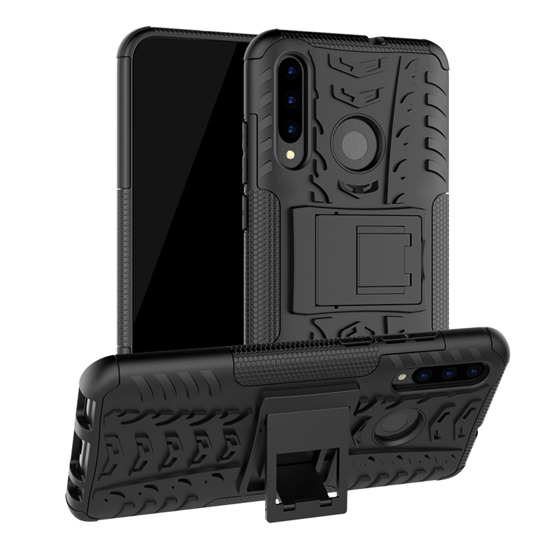 Soft TPU + PC Phone Back Cover For Huawei P Smart Plus 2019 Case Coque Smartphone Silicone