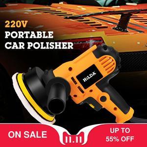 Image 1 - 220V Electric Car Polisher Machine Auto Polishing Machine Adjustable Speed Sanding Waxing Tools Car Accessories Powewr Tools
