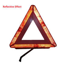 Foldable Car Reflective Triangle Warning Sign Road Traffic Tool For Vehicle Fault Parking