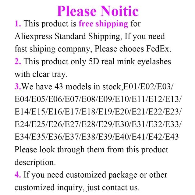 20/50/100Pairs Wholesale Mink Lashes 3D Mink Eyelashes 100% Cruelty free Lashes Handmade Reusable Natural False Lashes Makeup 4