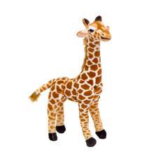 1pc Nice Cute Real Life Giraffe Plush Toys for Children Simulation Deer Animal Stuffed Doll Kids Birthday Gift Lovely Home Decor 23cm 1piece big nici giraffe toy plush lovely stuffed animal deer doll big birthday gift for boys