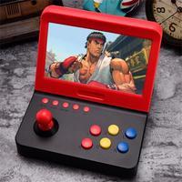 Tüketici Elektroniği'ten El Oyunları'de 7 inç Retro video oyunu Konsolu Mini Arcade Oyun Makineleri Çocuklar için 3000 Klasik Ev Seyahat Taşınabilir Oyun Sistemi Çocuk