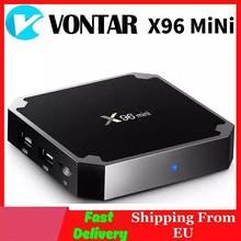 Vontar x96 mini caixa de tv android amlogic s905w quadcore 2.4g wifi x96mini android 7.1 jogo inteligente caixa superior 4k media player