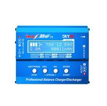Ban Đầu SKYRC IMAX B6 V2 6A 60W Cân Bằng Sạc Discharger Cho DJI Mavic TB4X NiMH NiCD LiHV NiCd PB sạc Pin Li ion