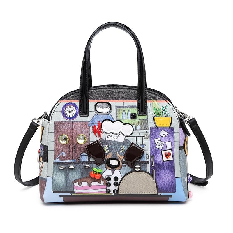 Créateur de mode femmes sacs à main en cuir Pu de haute qualité petit mignon dames sacs à main sacs à bandoulière décontracté femme fourre-tout sacs de messager