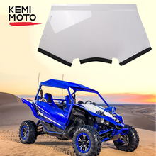 Lowest price KEMIMOTO UTV Front Full Windshield HWS Y YXZ for Yamaha YXZ 1000 YXZ1000R Scratch Resistant PMMA Windscreen