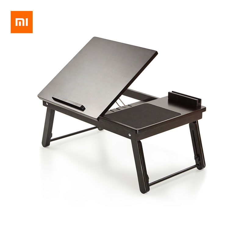 Xiaomi Youpin Multifunctional Folding Computer Table Folding Design Multiple Adjustment Natural Nanmu Flexible Component