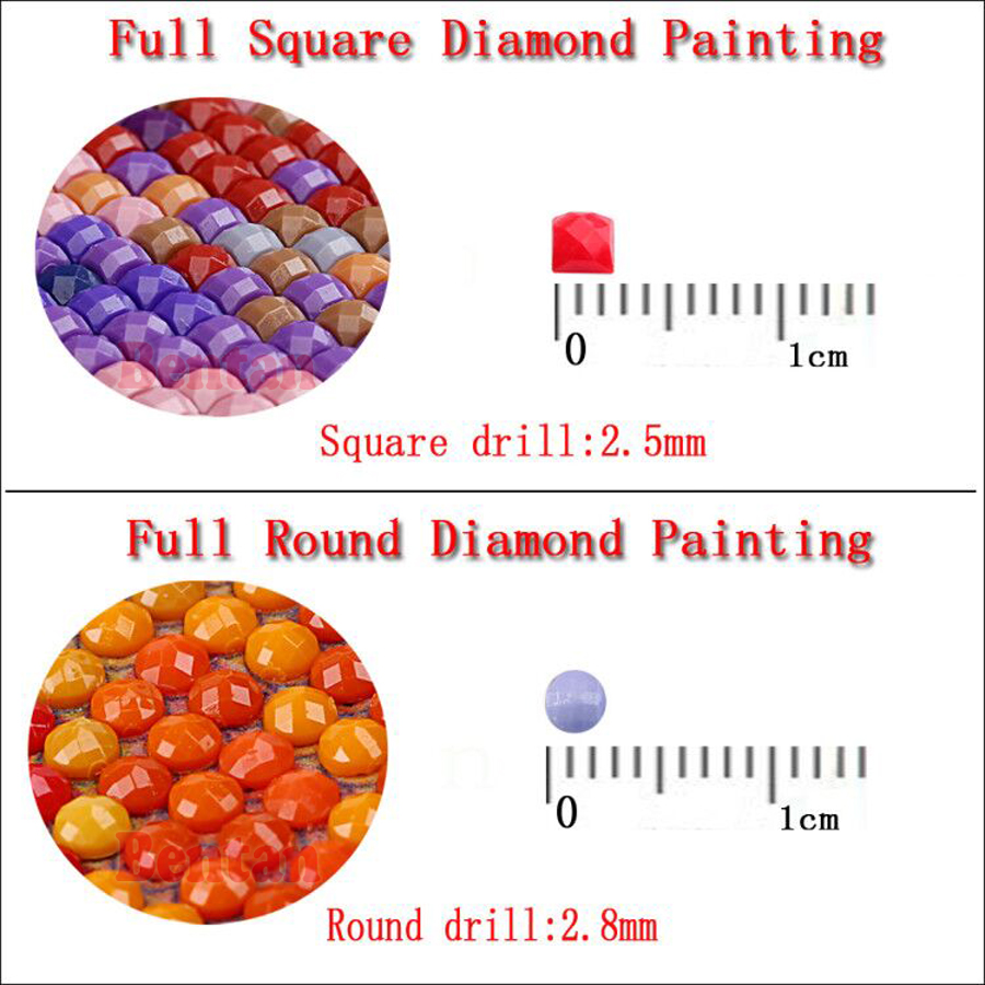 5D Diamond Painting Fairy world Full Round Square Diamond Embroidery flowers child Mosaic Picture Of Rhinestone Home Decor
