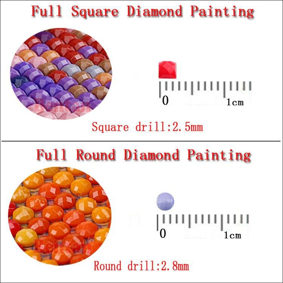 New arrival Large DIY Diamond Painting Chinese Nine Koi Fish Lotus Diamond Embroidery Diamond Mosaic sale 5d Full Square/round