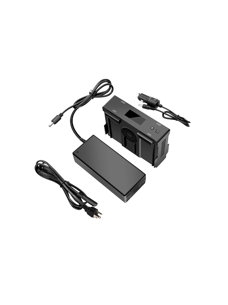 Originele Nieuwe Draagbare DJI Spark Draagbare Power Pack Omvatten Opladen Station Hub & Charger & Power Kabel & 2 stuks spark Batterij - 6