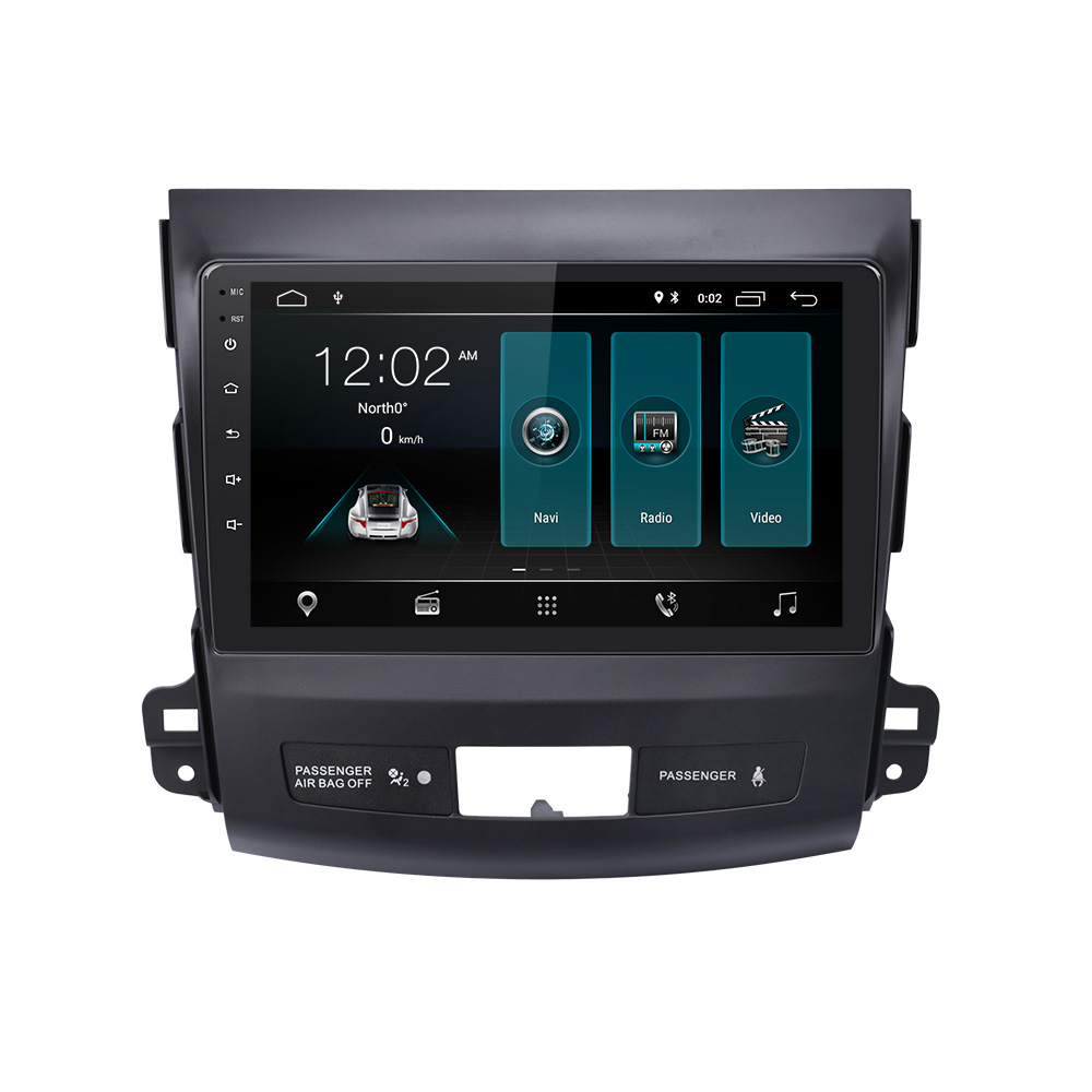 EBILAEN Car Multimedia player For <font><b>Mitsubishi</b></font> <font><b>Outlander</b></font> XL 2005-2014 2din Android 9.0 AutoRadio DVD Stereo Navigation GPS Video image
