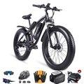 Электрический велосипед 1000W амортизационная вилка для велосипеда, фара для электровелосипеда в 48V увеличить 26 дюймов жира шин Sheng с принтом ...