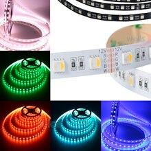5 м/лот 5050 smd rgbw/rgbww светодиодная полосветильник; 4 цвета