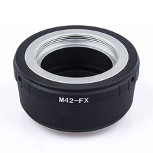 M42 محول العدسة حلقة M42 برغي جبل محول العدسة M42 FX متر 42 عدسة ل Fujifilm X جبل حلقة محول الكاميرا