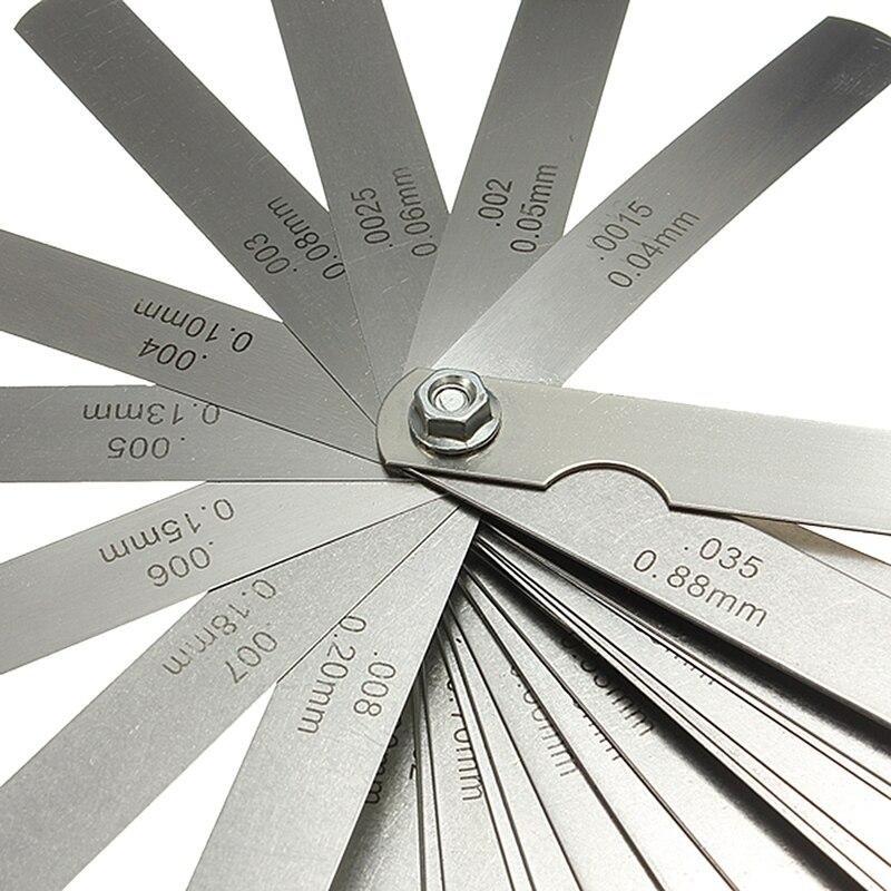 Стиль 32 комплект кронциркуль щуп датчик клапана обучения щупальный датчик 0,04-0,88 мм зазор измерения