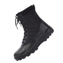 2021 neue Uns Military Leder Stiefel für Männer Kampf Bot Infanterie Taktische Stiefel Askeri Bot Armee Bots Armee Schuhe Erkek ayakkabi