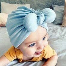 Chapéu do bebê recém-nascido elástico arco menino meninas turbante chapéu da criança infantil fotografia adereços bebê chuveiro gorro crianças acessórios