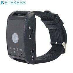 433 mhz 4 canais relógio receptor pager restaurante sistema de chamada sem fio para garçom hospital enfermeira chamada f4411a