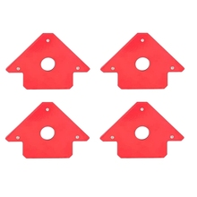 4 Pcs Welding Magnet Angle Soldering Locator Magnetic Corner Arrows Welder Welding Holder 45 90 135 Degree Angle Magnet