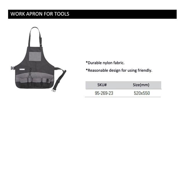 Stanley Convenient Durable Work Aprons With Tool Pockets Nylon Vest Tool Apron Belt Adjustable Garden Tools Apron For Men Women 6