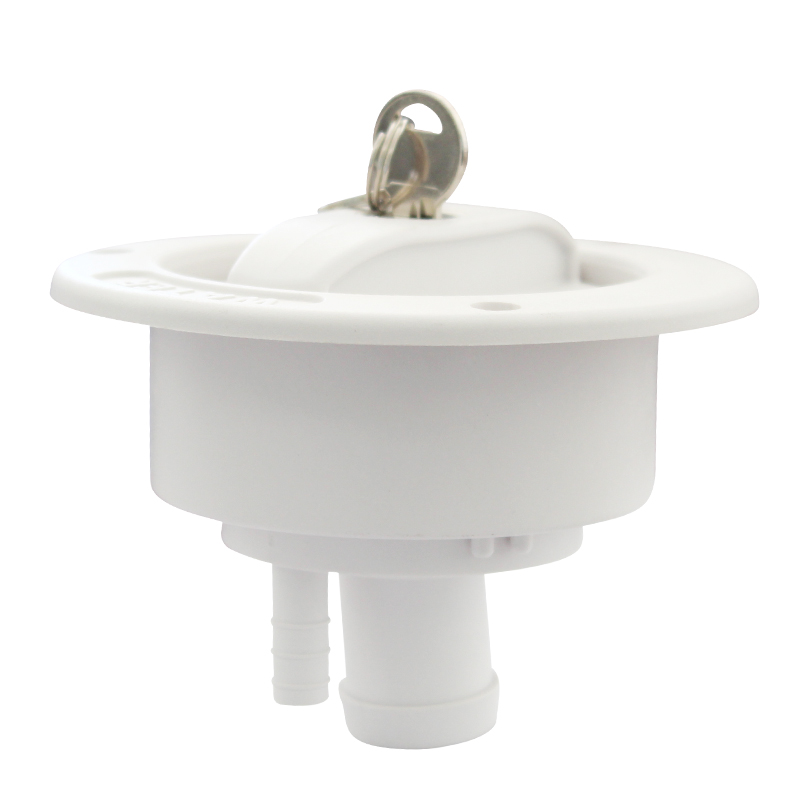 Caravan Accessories RV Modified Gravity Water Inlet With Lock Key Water Tank Inlet Hatch Camper Trailer RV Lock Door()