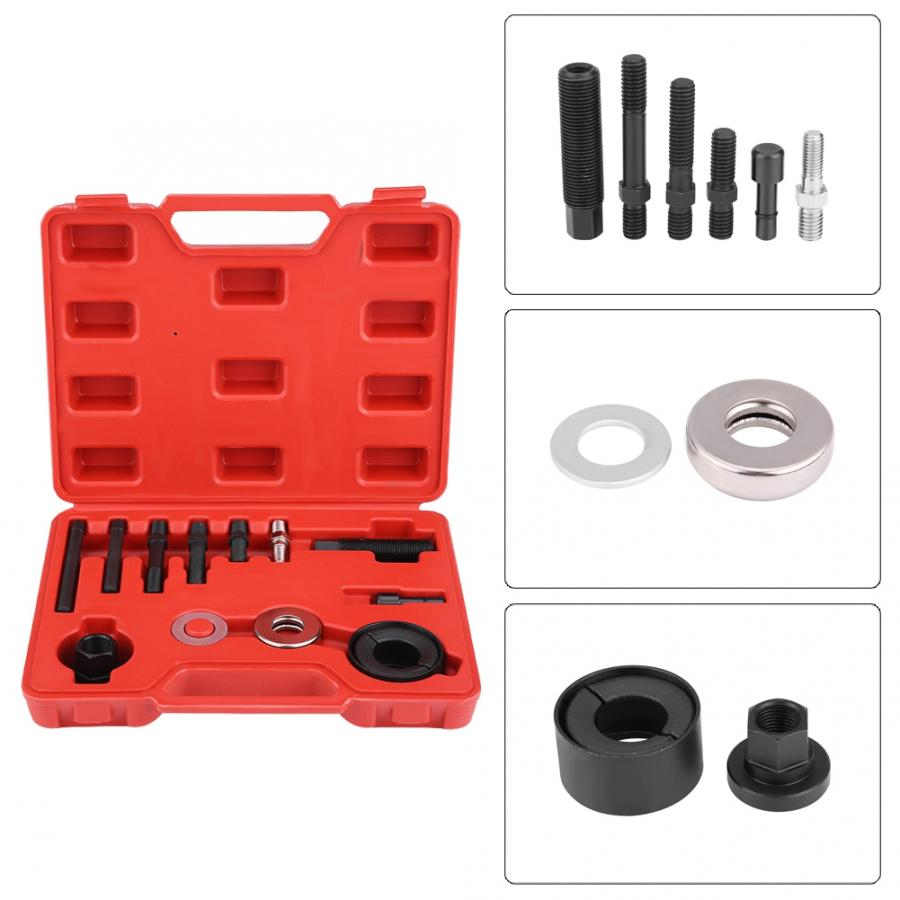 12PC Direction Assistée Alternateur Poulie Extracteur//Installateur Kits GM CHYRYSLER FORD