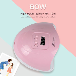 Image 3 - Poly Gel Kit 48/80w UV LED Lamp For Nail Builder Gel Varnish Polish Polygel Hard Gel Electric Manicure Handle Electric Nail Kit