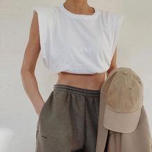 Женские модные повседневные свободные футболки из хлопка без