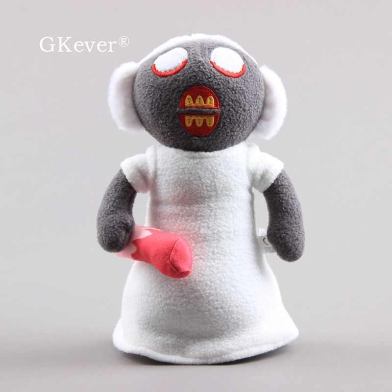25Cm Horror Game Granny Knuffel Soft Gevulde Figuur Oma Pop Baby Kids Kerst Verjaardagscadeau