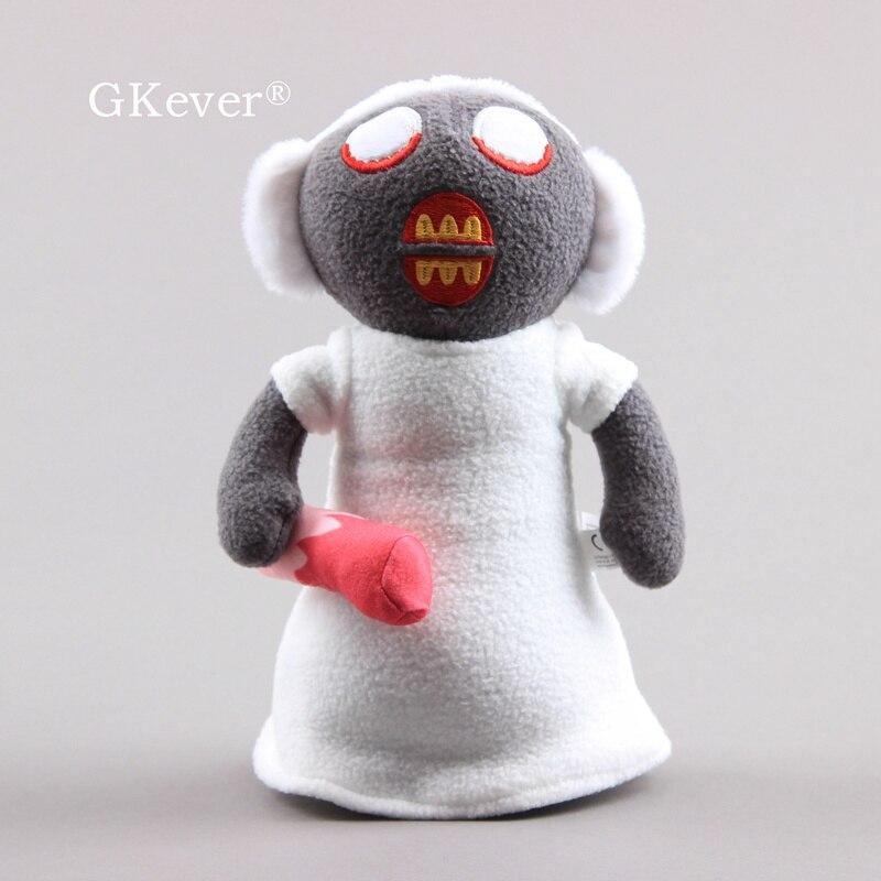 25cm korku oyunu büyükanne peluş oyuncak yumuşak doldurulmuş figürü büyükanne bebek bebek çocuk noel doğum günü hediyesi