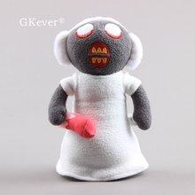 25cm jeu d'horreur mamie en peluche doux en peluche Figure grand-mère poupée bébé enfants cadeau d'anniversaire de noël