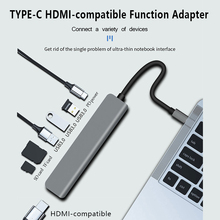 Sd-Tf-Converter Dock-Station SWITCH Multi-Adapter Pd-Charging Macbook To for Pro 7-In-1