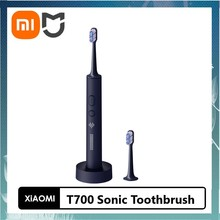 2021 Newest Xiaomi Mijia T700 Sonic Toothbrush for Adult Timer Brush APP Control Smart Electric Toothbrush IPX7 Waterproof
