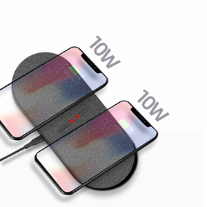 Image 2 - Chargeur sans fil 2 en 1 QI 20W pour Samsung S9 S10 S20 Note 9 charge rapide pour iPhone 11 pro Dual 10W 2 en 1 chargeur