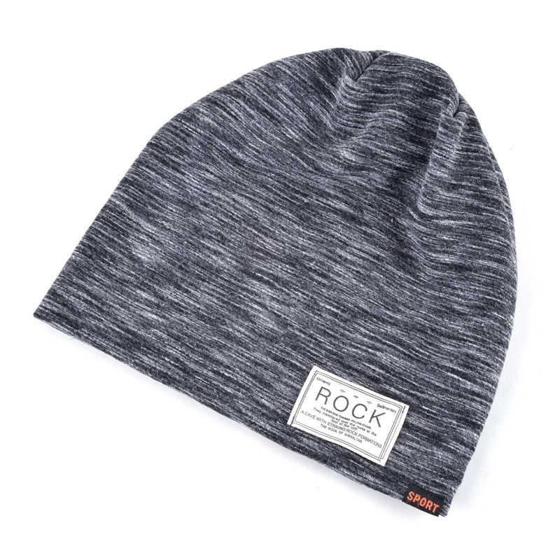 NUZADA สีหมวกฤดูหนาวสำหรับผู้ชายผู้หญิง Skullies Beanie Hedging หมวกถักหมวกผ้าฝ้าย Double Layer ผ้า Bonnet อบอุ่นหมวก