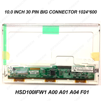 10.0 REPLACE NOTEBOOK LED LCD SCREEN HSD100IFW1 FOR Dalle Ecran 10 FOR ASUS EEE PC 1000 1001HA 1005HA 1011CX DISPLAY MATRIX image