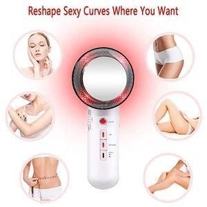 Image 2 - Vytalbrush 3 in 1 ultrason kavitasyon vücut zayıflama masajı kilo kaybı Anti selülit Fat Burner galvanik kızılötesi terapi