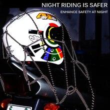 40x40 см универсальная мотоциклетная Светоотражающая сетка для мотокросса, сетка для багажника, фиксированная веревка для шлема, багажная сетка, прочный светоотражающий ремень