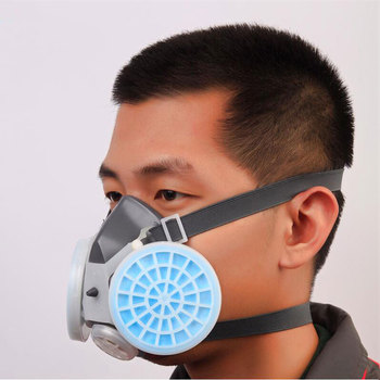 Gas Mask Dust Masks Suit Mouth Mask Protection Mask PM2.5 Industrial Painting Spraying Respirator Safety For Work PM013 high quality respirator gas mask modular strengthen protection protective mask painting pesticide industrial safety gasmaske