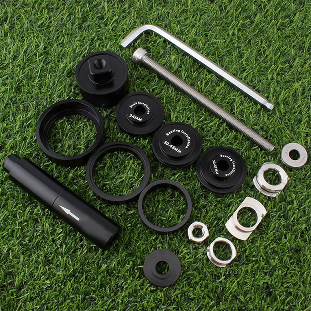 Outdoor Bike Bicycle BB Bearing Press Tool Bottom Bracket Install Removal Kit For PF30 BBright BB386 Static Press-in Disassembly