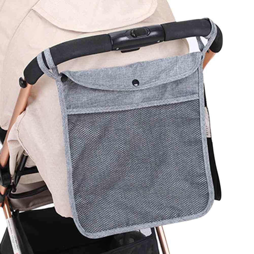 Baby Stroller Storage Pram Infant Bottle Holder Organizer Waterproof Hanging Bag