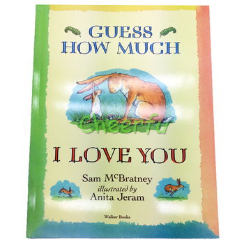 Educational English Story Books for kids libros Best Picture Children Baby Short Stories Guess How Much I Love You livros - discount item  5% OFF Learning & Education