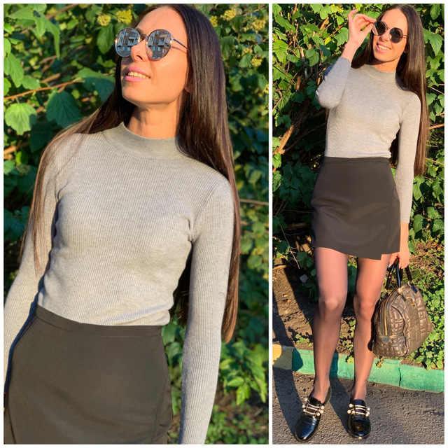 Pullover Mujer suéter tejido delgado Fitness suéter sólido Mujer algodón Otoño Invierno 2019 suéter Casual negro blanco
