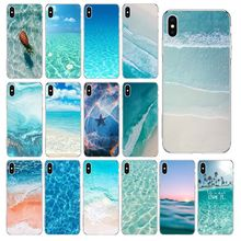 цена на Beautiful sea waves Transparent Soft Shell Phone Cover for iPhone 11 pro XS MAX 8 7 6 6S Plus X 5 5S se 2020 XR cover