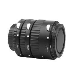 12mm 20mm 36mm Manual Focus N-AF Macro Extension Tube Set For Nikon D3100 D7100 D5100 D5500 D5200 D90 Digital SLR Camera