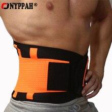 ONYPPAH Mens Waist Trainer Extreme Power Belt Faja Women Body Shaper Slimming Belt Shapewear Tummy Shaper Waist Control Shaper